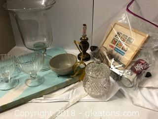 Assorted Items Glassware