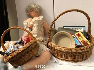 Dolls And Items For Sale