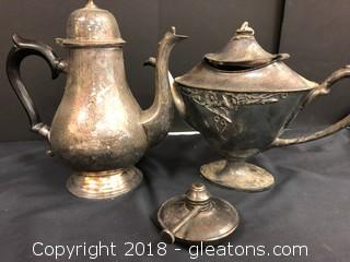 2 Lovely Coffee/Tea Pots - Very Vintage