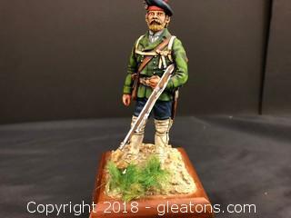 European War Metal Figurine- Highly Detailed