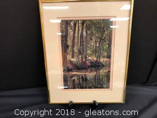 Beautiful Hand Printed Picture - By Ray Doan Print