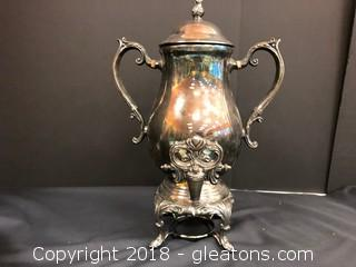 Large Ornate Coffee Pot- Very Vintage