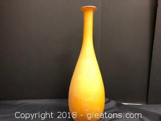 Solder Glass Vase