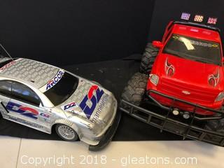 Large LOT OF RC Vehicles!