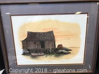 """The Shanty"" Framed Print"