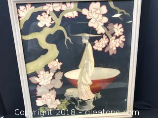 Oriental Art 'A Genuine Water Color'