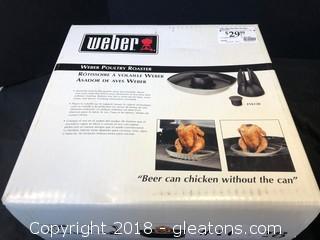 'Weber Poultry Roaster'