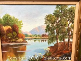 Framed Nature Canvas Print