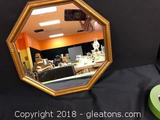 Octagon Accent Mirror LOT A