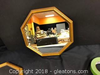 Octagon Accent Mirror LOT B