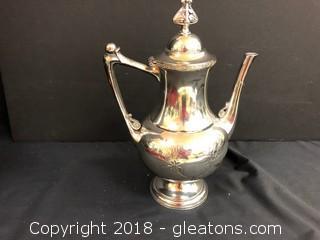 Meriden Silver Co. Tea Pot
