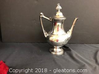 Meriden Silver Plate Co. 1413 Kettle W Cover