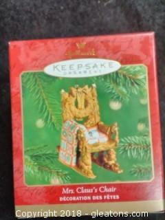 Mrs. Claus's Chair