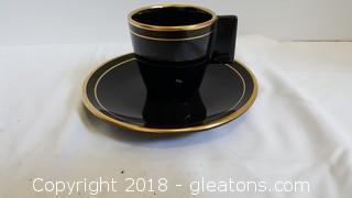 Tea Set Cup/Saucer Lamberton Scammell Mayer China