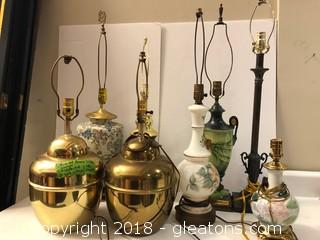 Collection Of Lamps