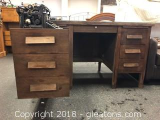 Antique Type Writer Desk