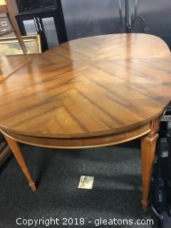 Spode Leg Dining Table Vintage