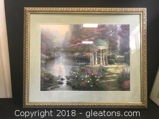 Thomas Kinkade Signed and LOW Numbered Lithograph with Cert of Auth.