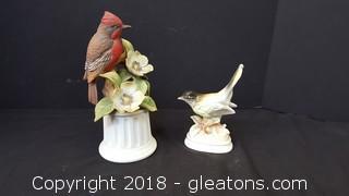 Desktop Bird Figurines (1) Made By: Andrea Vermilor