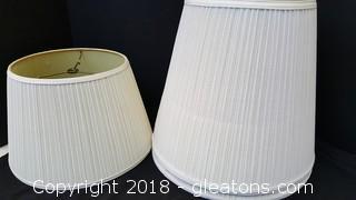 Set Of (3) Lamp Shades