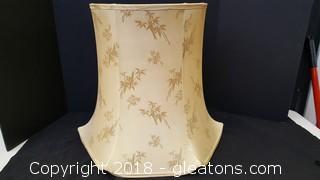 Vintage Large Lamp Shade