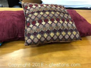 Lot Of 3 Pillows