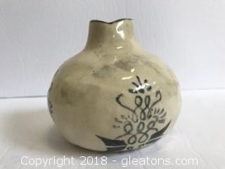 Vintage Hand Painted Handmade Pottery