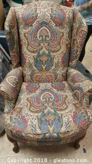 Wing Back Chair (A)