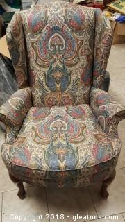 Wing Back Chair (B)