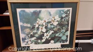 Atlanta Dogwood Festival 1989 Print/Framed