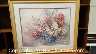 Framed Limited Edition Art Gallery Frame Shop Print Signed