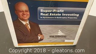Super - Profit Real Estate Investing Foreclosure/Bankruptcy Bob Diamond Investor Education Books + CD's