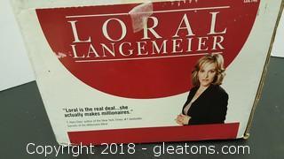 Loral Langemeier T.Harv Eker Author Of New York Times #Bestseller Secrets Of The Millionaire Mind Book + CD's
