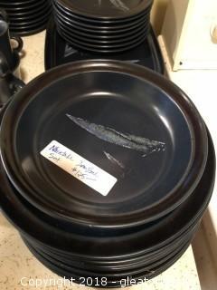 Noratake Primastone Stoneware Feather Accent Dinnerware