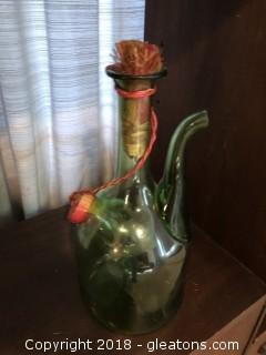 Vintage Italian Wine Carafe