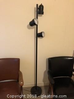 Vintage three way floor lamp