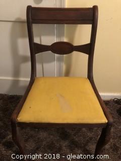 Vintage 1940's Desk or Vanity Chair