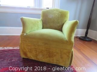 Small Antique Accent Arm Chair