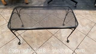 Wrought Iron Coffee Table Outdoor
