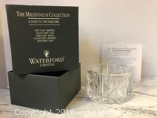 Waterford Bottle Coaster New in Box