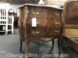 Marble Top Italian Side Table
