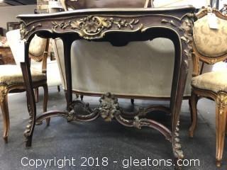 Louis XVI Antique Console Table