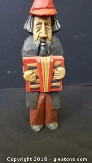 Handmade/ Painted Wooden Figurine