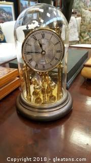 Antique Bass Dome Table Top Quartz Clock