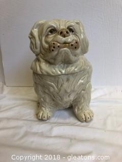 Bowser The Dog Cookie Jar
