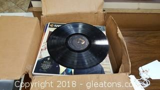 Box Of Mixed Vintage Records