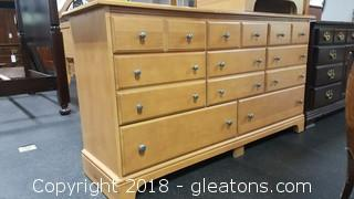 Bassett Dresser W/Mirror - Light Color