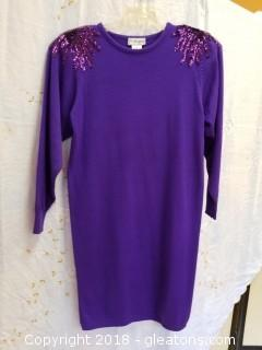Sweater Dress Plain Jane By Sweet Baby Jane Size L