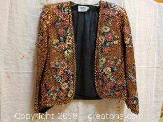 Unique Evening Jacket CERVELLE Size M