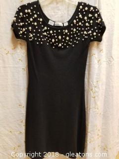 Pearl Sweater Dress Anne Klein II Size M